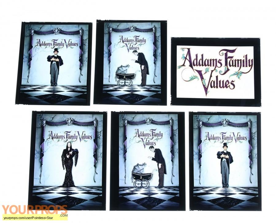 Addams Family Values original production artwork