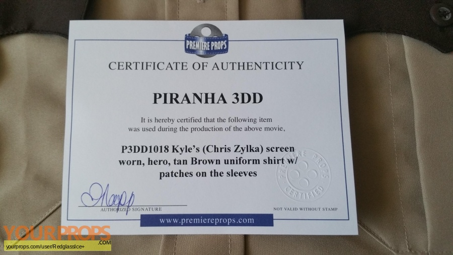 Piranha 3DD original movie costume