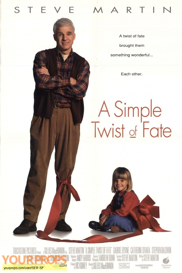 A Simple Twist of Fate original production material