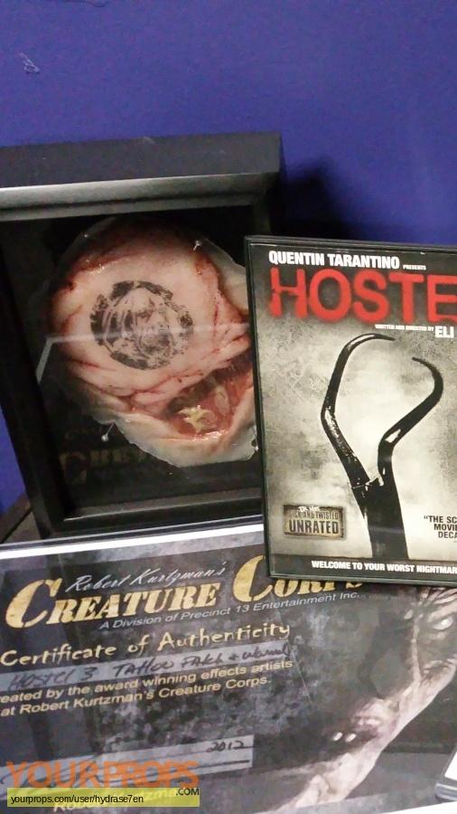 Hostel III original make-up   prosthetics
