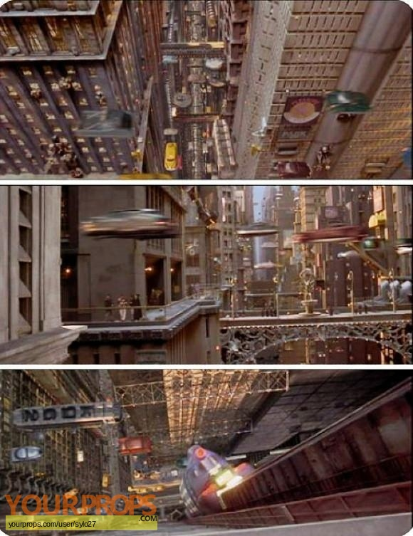 The Fifth Element (5th) original production material