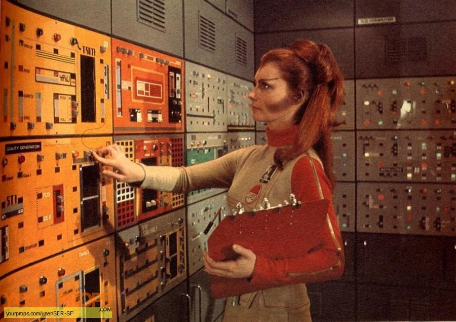 Space 1999 TV 1975 original set dressing   pieces