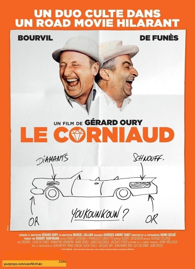 Le Corniaud original movie prop