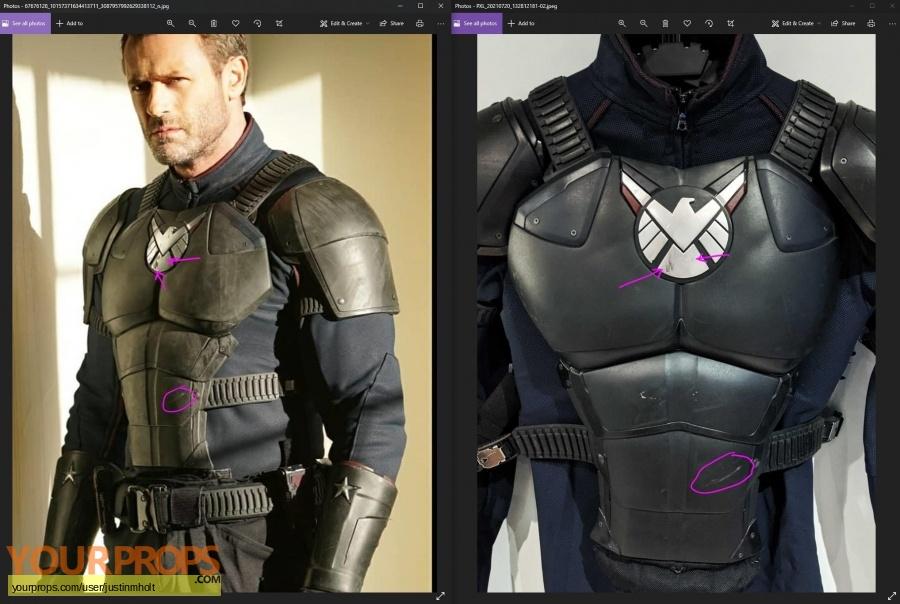 Agents of S H I E L D  original movie costume