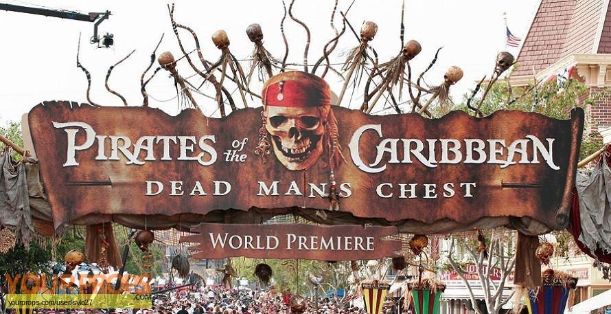 Pirates of the Caribbean  Dead Mans Chest original movie costume
