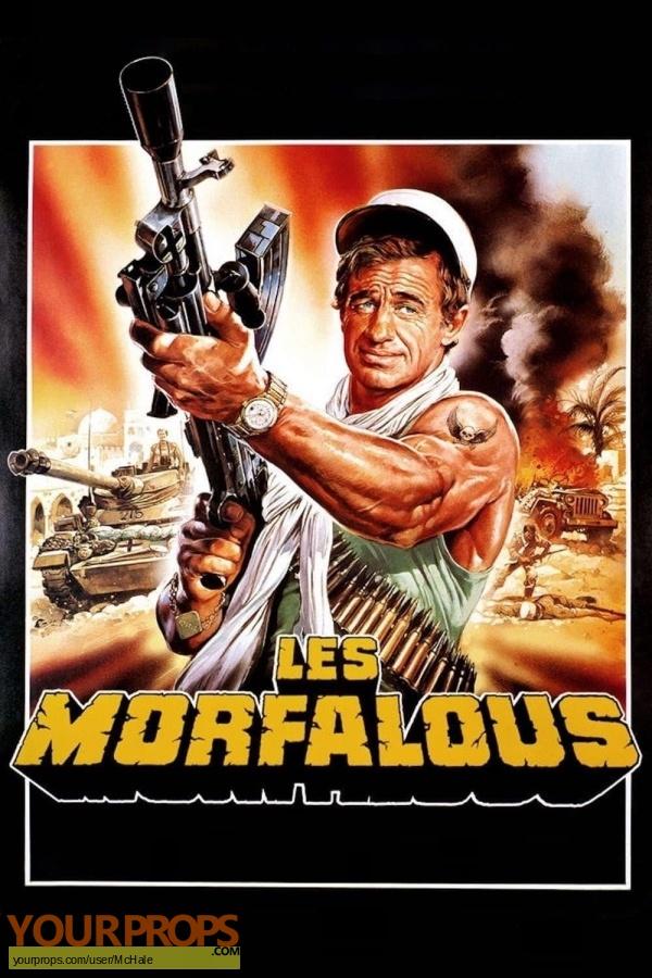 Les Morfalous original movie prop