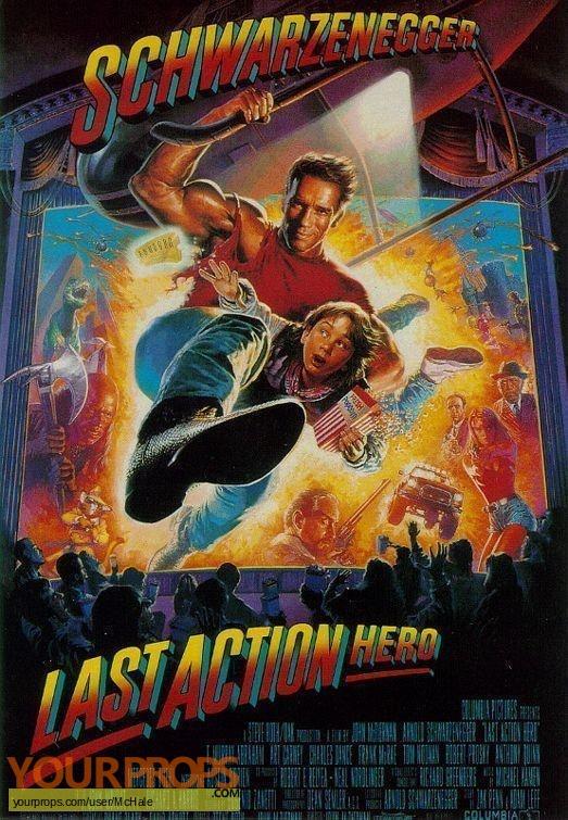 Last Action Hero replica movie prop