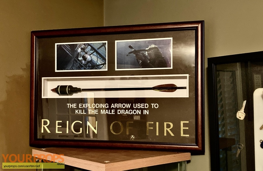 Reign of Fire original movie prop