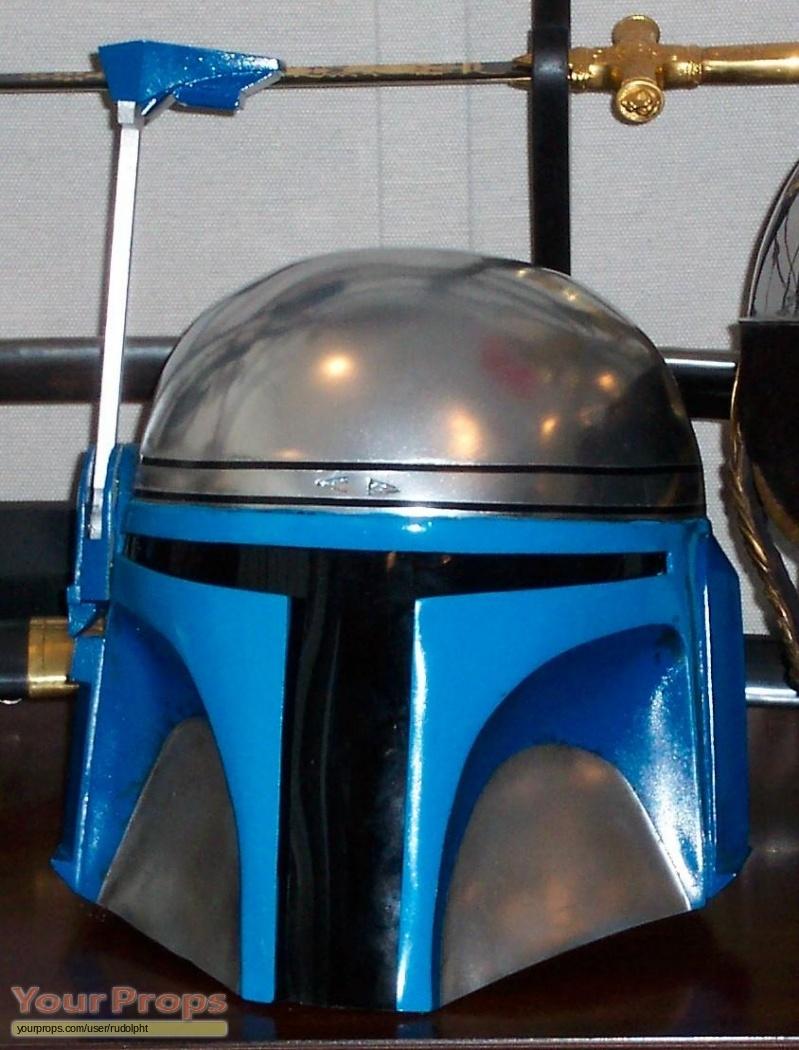 Star Wars Attack Of The Clones Jango Fett Helmet Replica