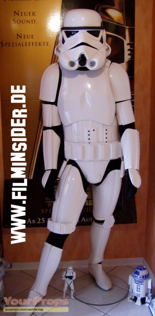 Star Wars ANH ESB ROTJ (Classic Trilogy) replica movie costume. Stormtrooper ... & Star Wars: ANH ESB u0026 ROTJ (Classic Trilogy) Stormtrooper Costume ...
