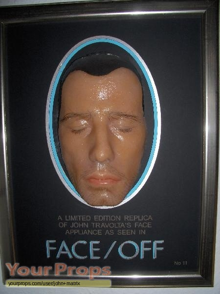 John travolta s face appliance make up prosthetics