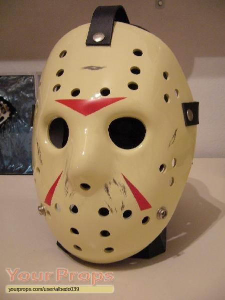 Friday The 13th Part 3 Jason Mask Replica Movie Prop