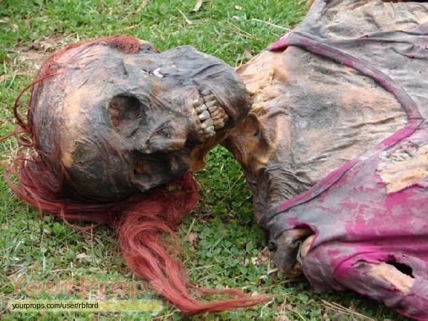 Decaying human body
