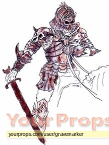 Army Of Darkness Original Concept Art For Evil Ash Armor Original