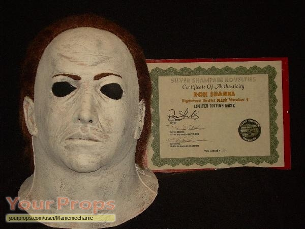 halloween 5 the revenge of michael myers replica movie prop - Halloween Myers Mask