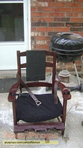 Replica based on the electric chair used by constantine
