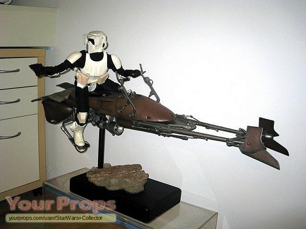 Star Wars Return Of The Jedi Speeder Bike And Scout Premium