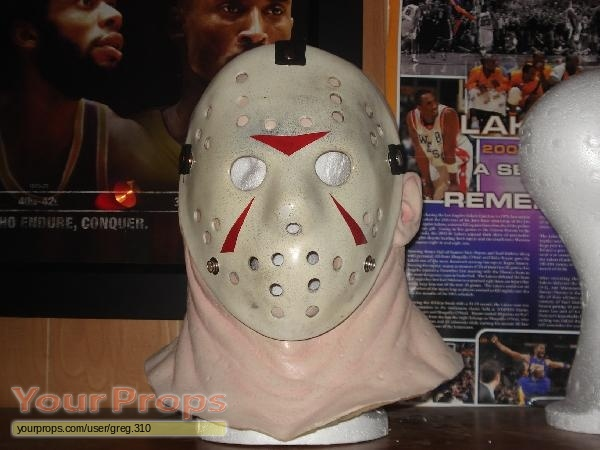 Friday The 13th Part 3 Part 3 Jason Mask Replica Movie Costume