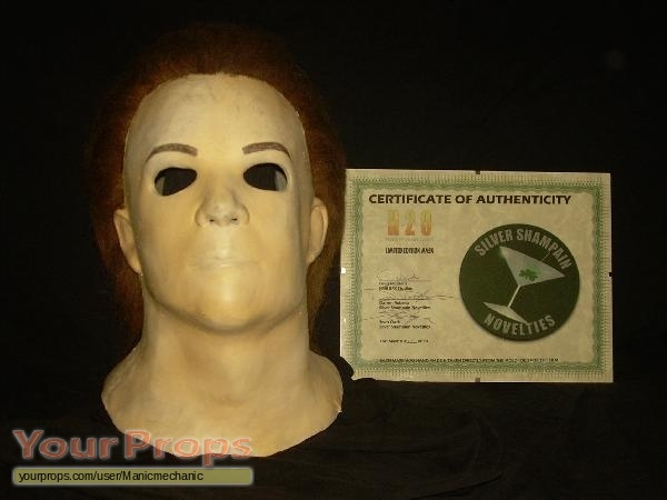 Halloween H20: 20 Years Later KNB SSN H20 RARE replica movie prop