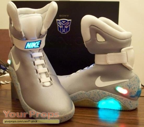 Back To The Future 2 Nike Air Mag Replica Movie Costume