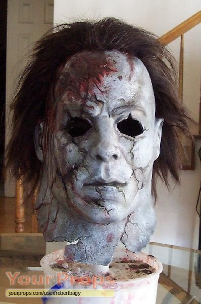 h2 halloween 2 replica movie prop - Rob Zombie Halloween Mask For Sale