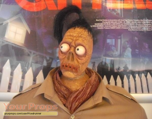 Beetlejuice Beetlejuice Shrunken Head Guy Bust Replica Movie Prop