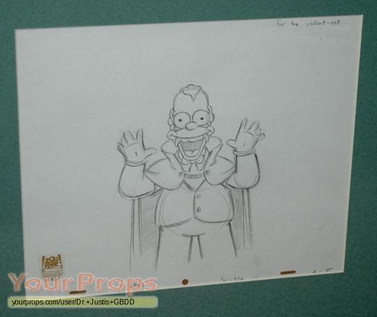 Original Simpsons Drawings The Simpsons Original