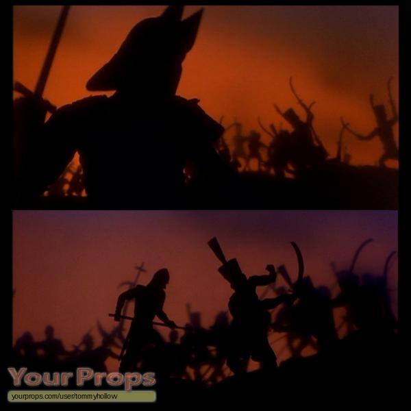 Warrior Movie Fight Scene: Bram Stoker's Dracula Medieval Warrior Puppet From Opening