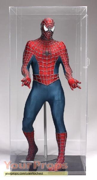 Spider-Man replica movie costume & Spider-Man Life Size Spider-man W/ Costume replica movie costume