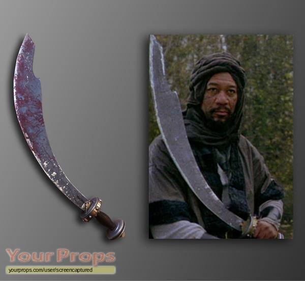 Robin Hood Prince Of Thieves Morgan Freeman S Sword