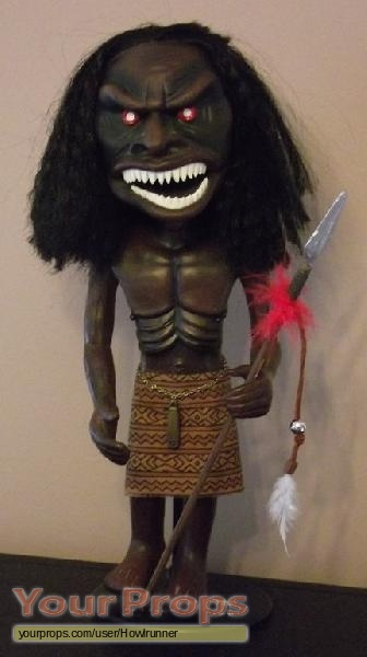 Zuni Fetish Warrior Doll 75
