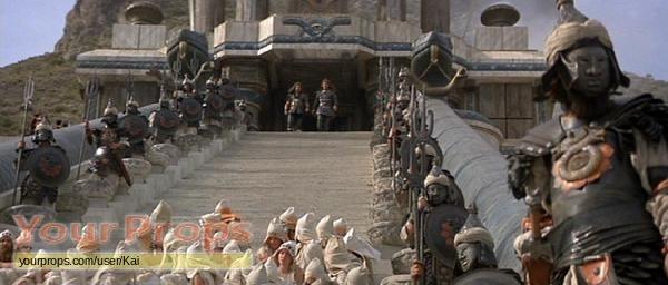 Conan the Barbarian Set Temple Guard Helmet original movie prop