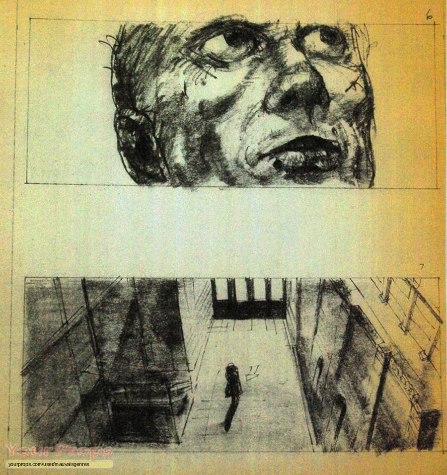 blade runner blade runner storyboard original prod  artwork