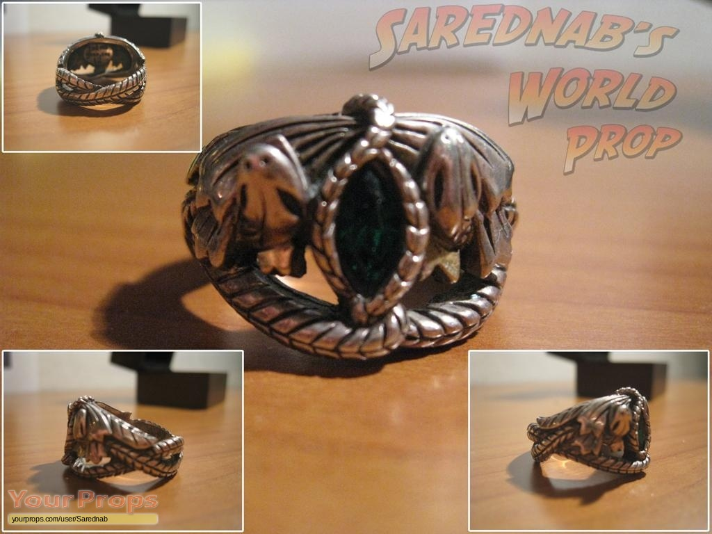 Lord Of The Rings Trilogy Aragorn Ring Master Replicas