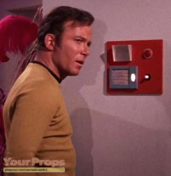 Star Trek The Original Series Wall Communications Panel
