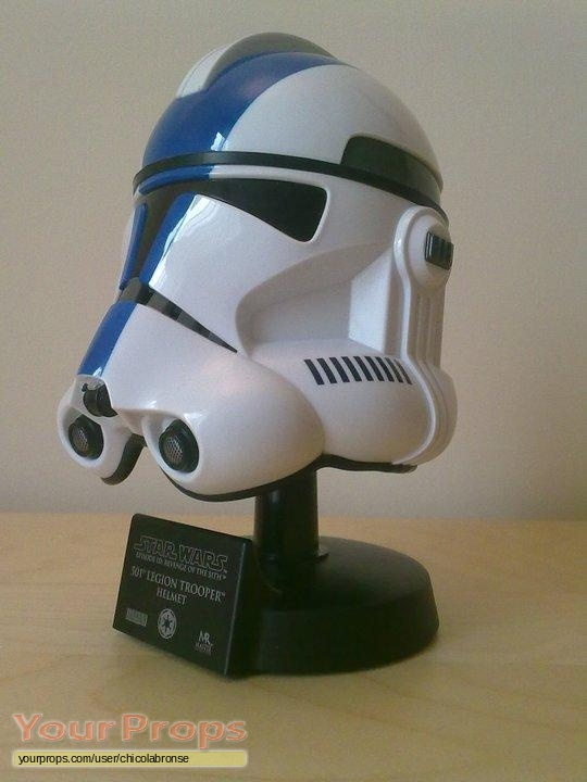 Star Wars Revenge Of The Sith Master Replicas 501st Legion Clonetrooper Scaled Helmet Master Replicas