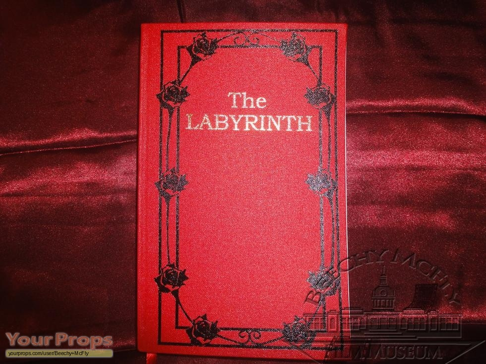 Labyrinth Labyrinth Book.. replica movie prop Labyrinth 1986 Sarah