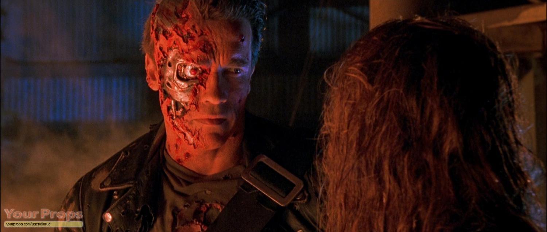 Terminator 2: Judgment Day original T2 Arnold face ...