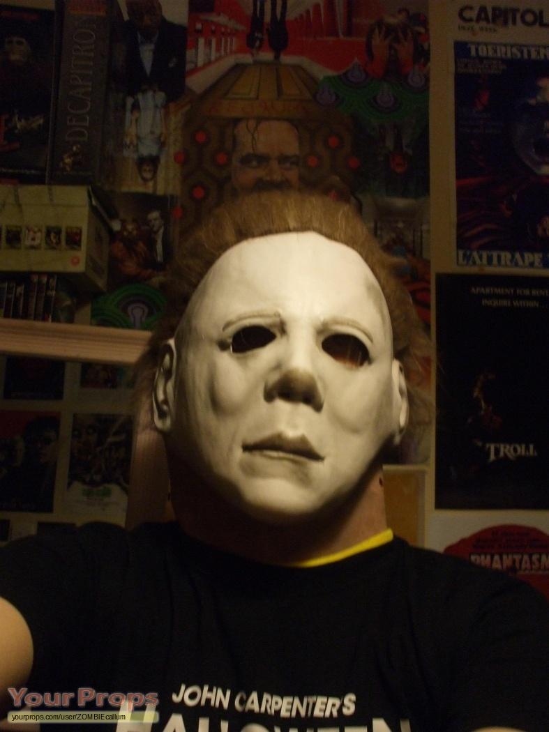 Halloween 2 Michael Myers Mask replica movie prop