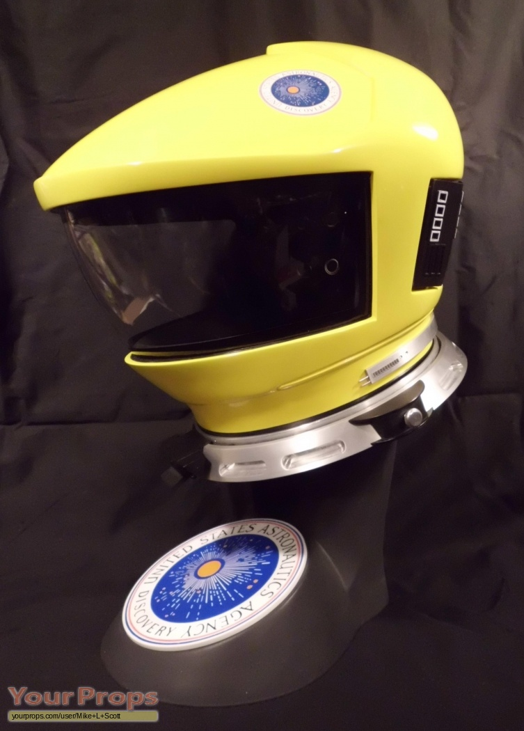 2001 A Space Odyssey 2001 Helmet Yellow Replica Movie Costume