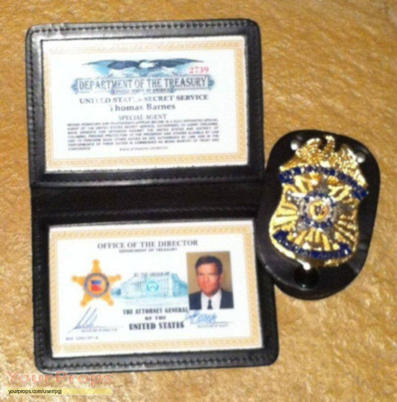 US Secret Service Special Agent Thomas Barnes badge and credentials Secret Service Agents Badge