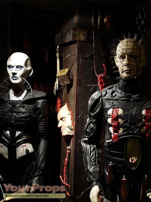 Hellraiser Pinhead Female And Torture Pillar Replica Movie