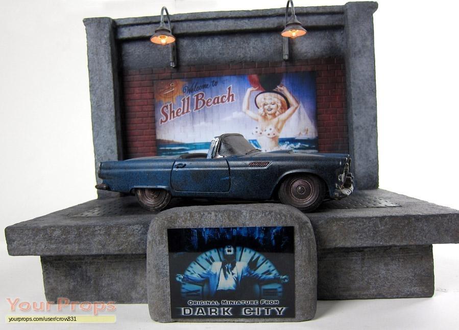Dark City Original Mercedes Sedan Miniature Car original ...  Dark City Movie Props