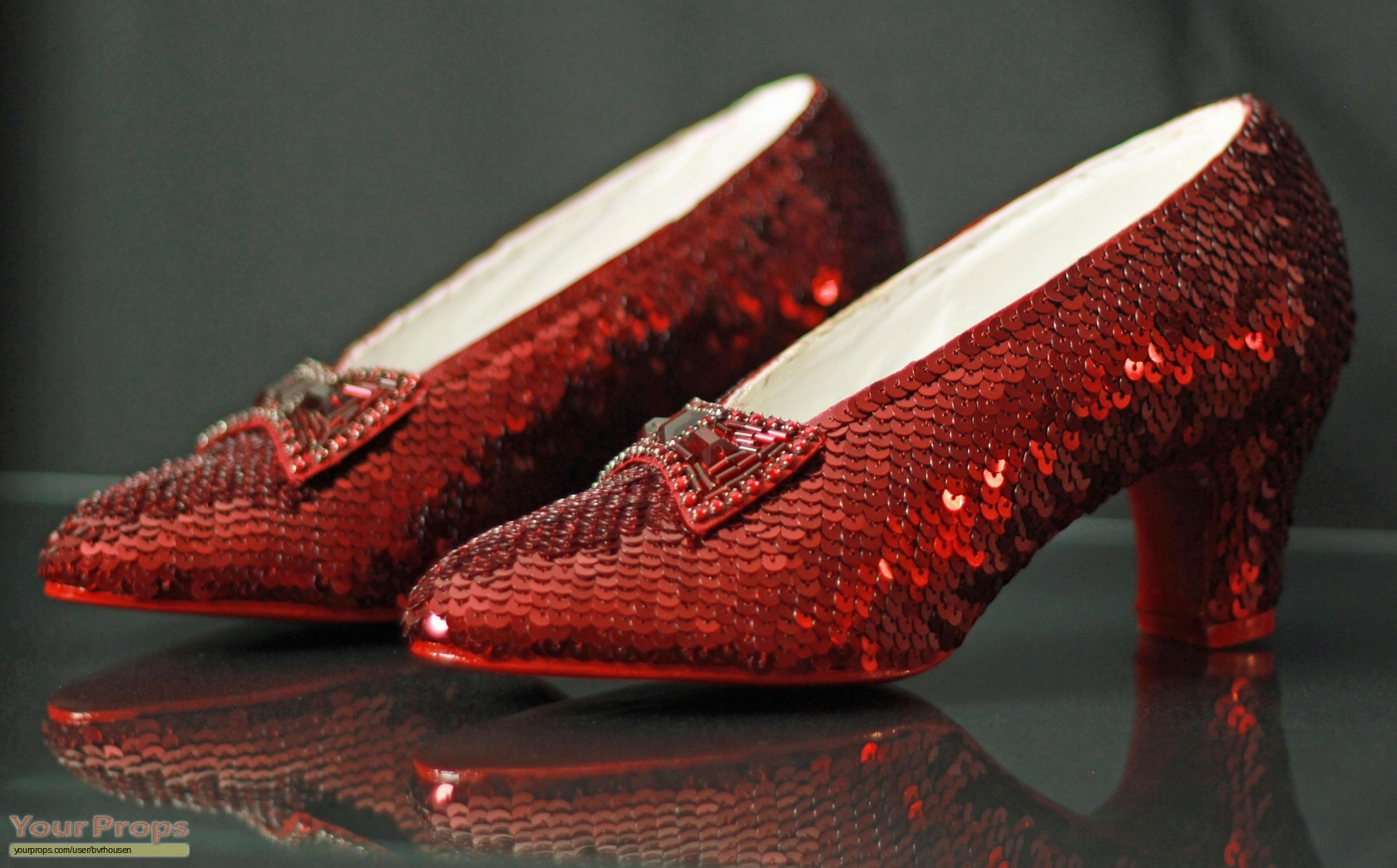 Image result for Original 'Wizard of Oz' Ruby Slippers