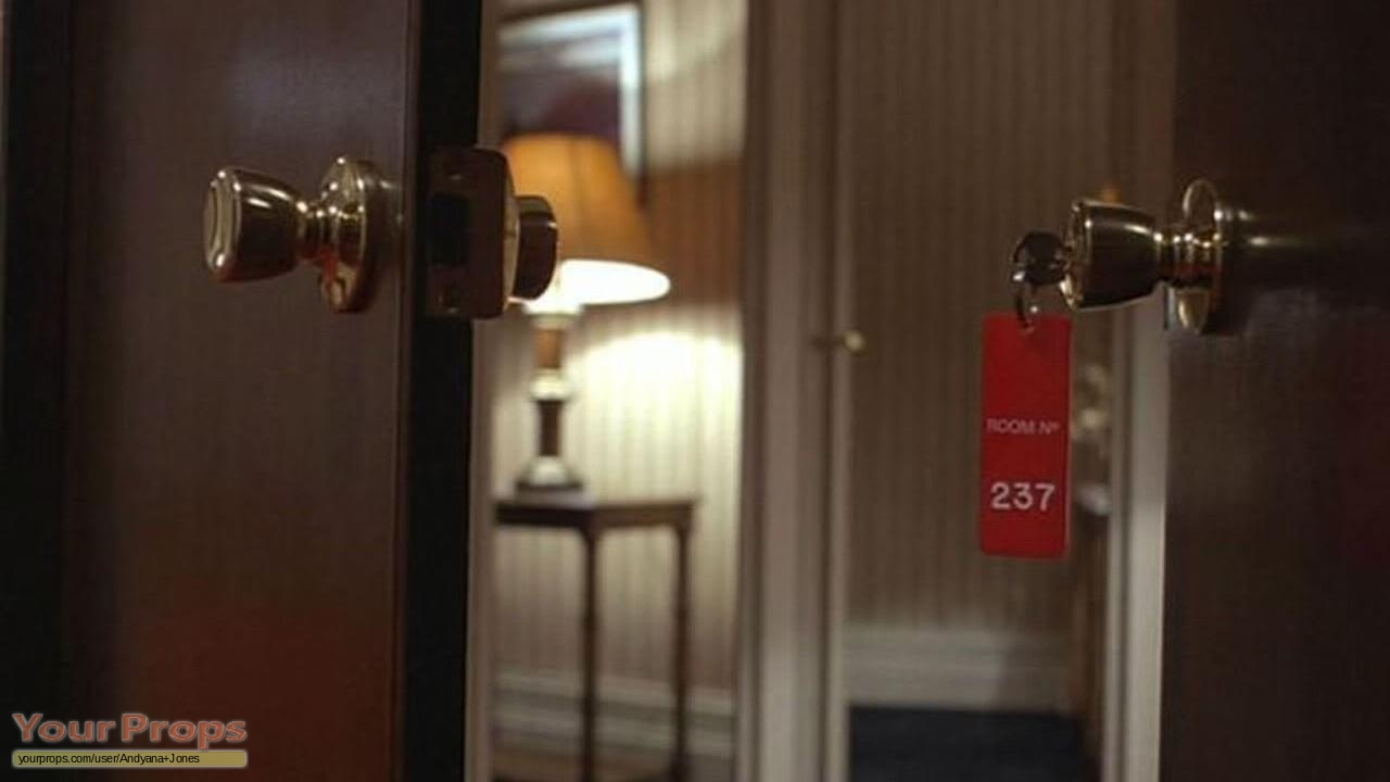 The Shining Room 237 Keychain Replica Movie Prop