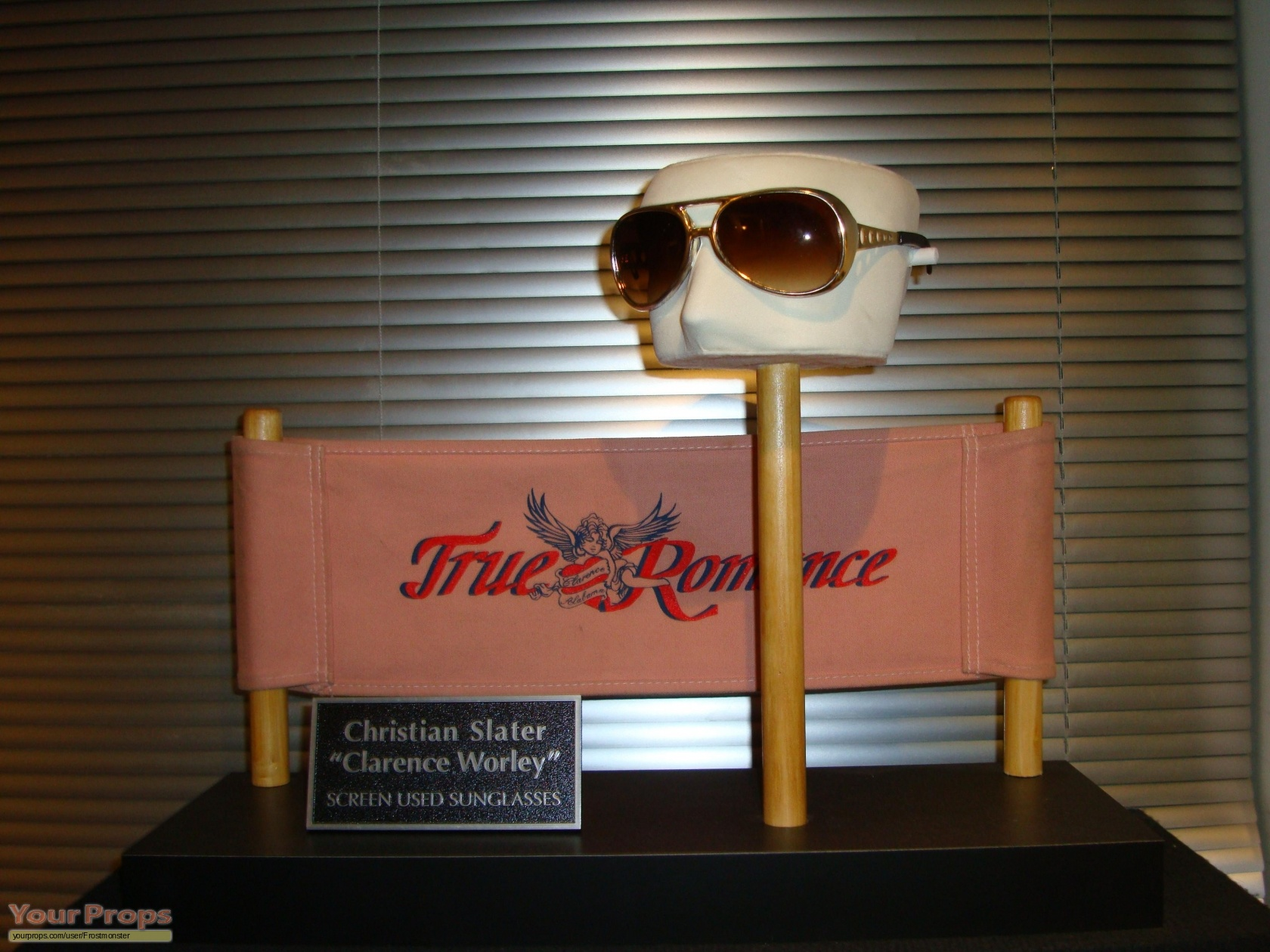 c479bb5c5111 True romance clarence worley hero sunglasses original movie prop jpg  1680x1260 Sun glasses true romance
