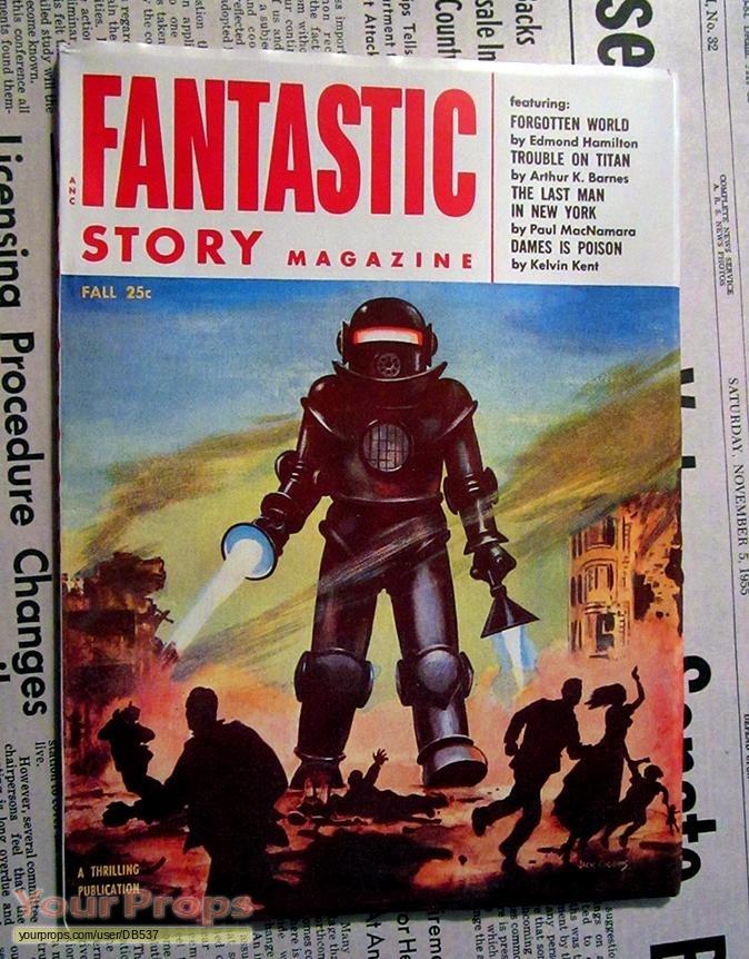 Fantastic Story Magazine 1950 Pulp Comic Books: Back To The Future Fantastic Story Magazine