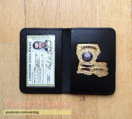 Detective Badge Replica Tv Police True Prop Louisiana State Series