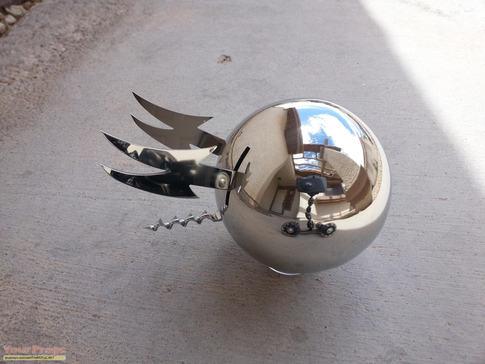 Phantasm Ii Sentinel Sphere Made From Scratch