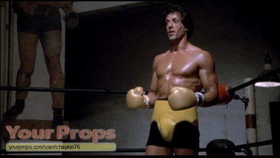 Rocky Iii Rockys Boxing Gloves Original Movie Prop